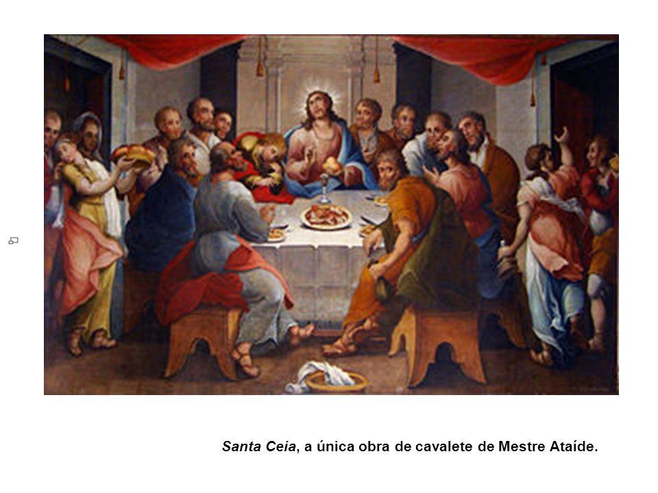 Santa Ceia, a única obra de cavalete de Mestre Ataíde.