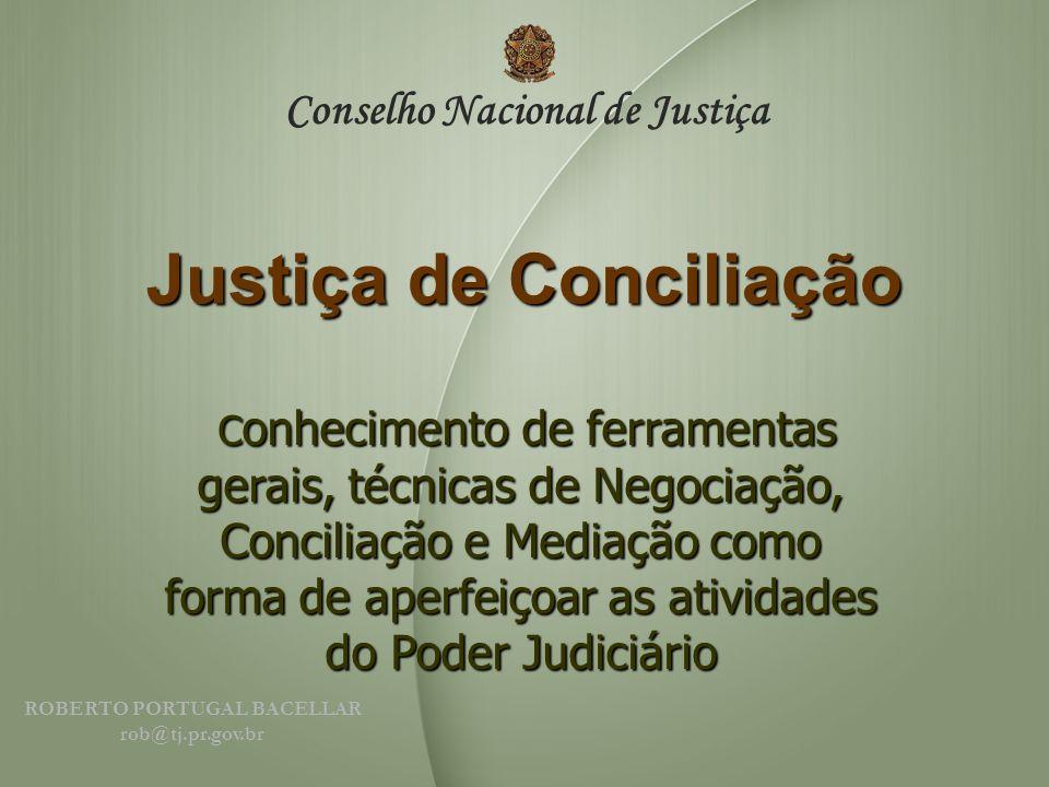 Justiça de Conciliação