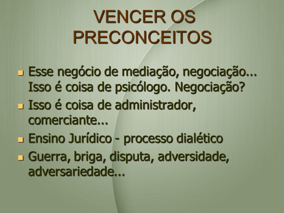 VENCER OS PRECONCEITOS