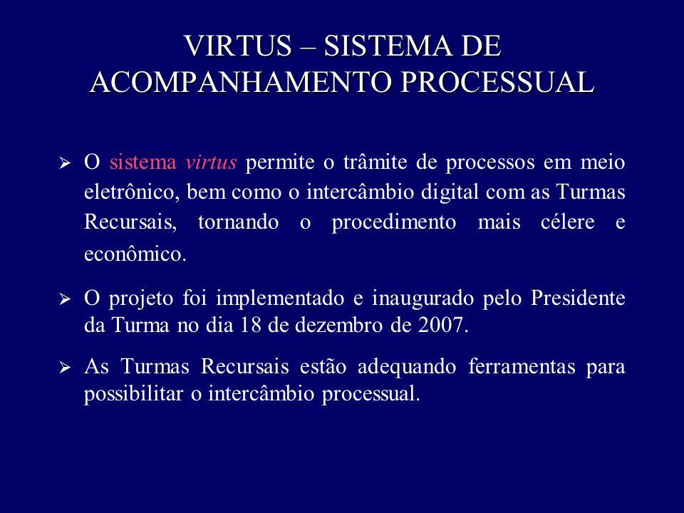 VIRTUS – SISTEMA DE ACOMPANHAMENTO PROCESSUAL