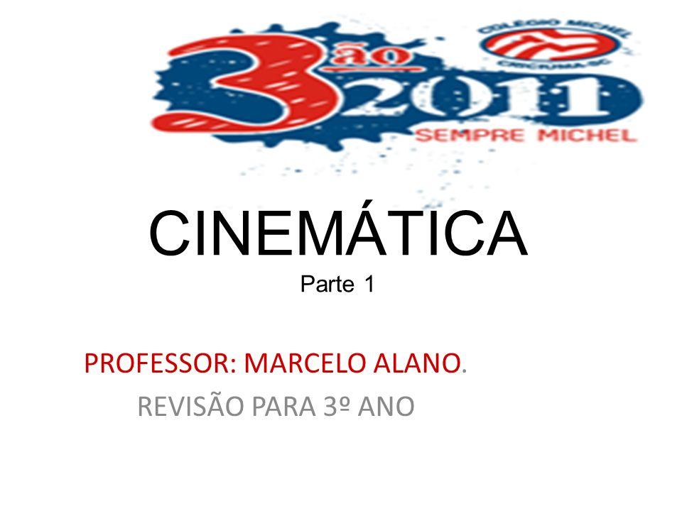 PROFESSOR: MARCELO ALANO. REVISÃO PARA 3º ANO