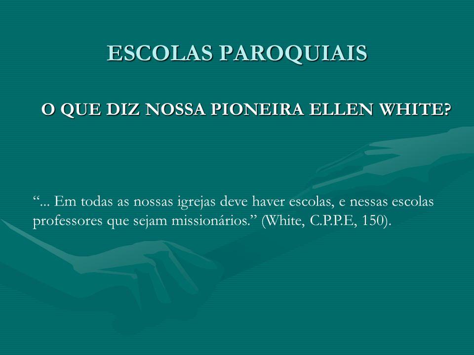 O QUE DIZ NOSSA PIONEIRA ELLEN WHITE