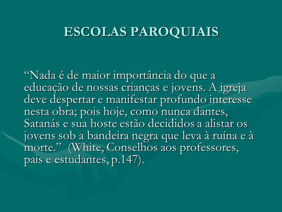 ESCOLAS PAROQUIAIS