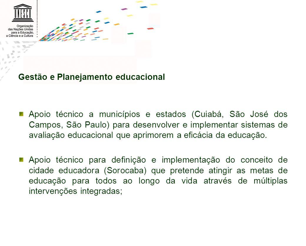 Gestão e Planejamento educacional