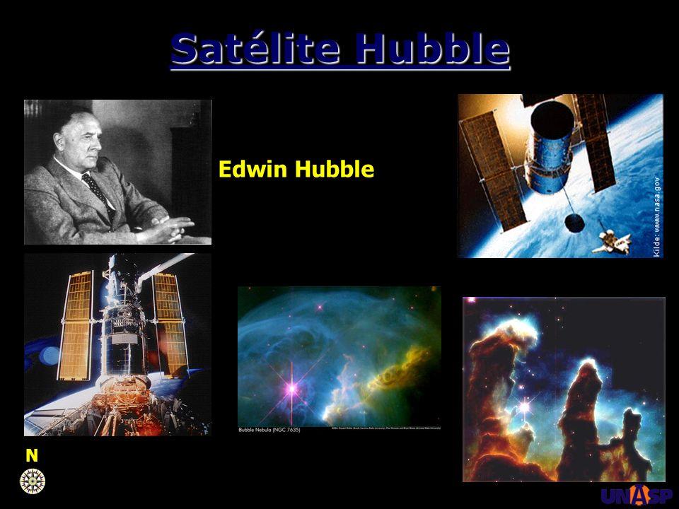 Satélite Hubble Edwin Hubble N