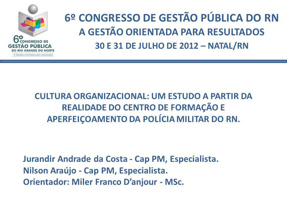 6º CONGRESSO DE GESTÃO PÚBLICA DO RN