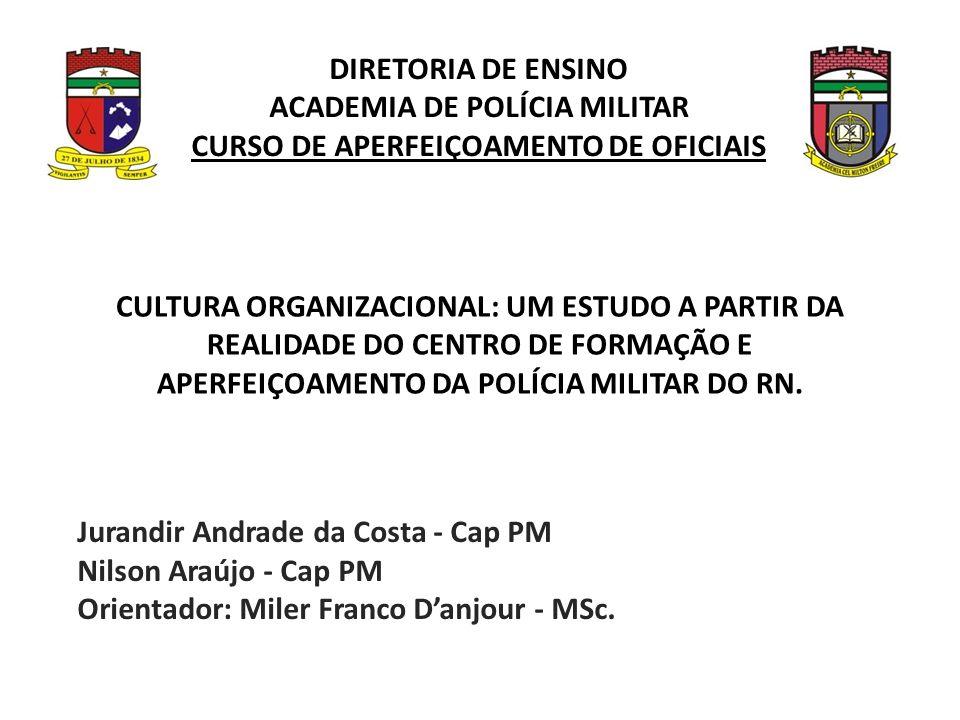 ACADEMIA DE POLÍCIA MILITAR CURSO DE APERFEIÇOAMENTO DE OFICIAIS