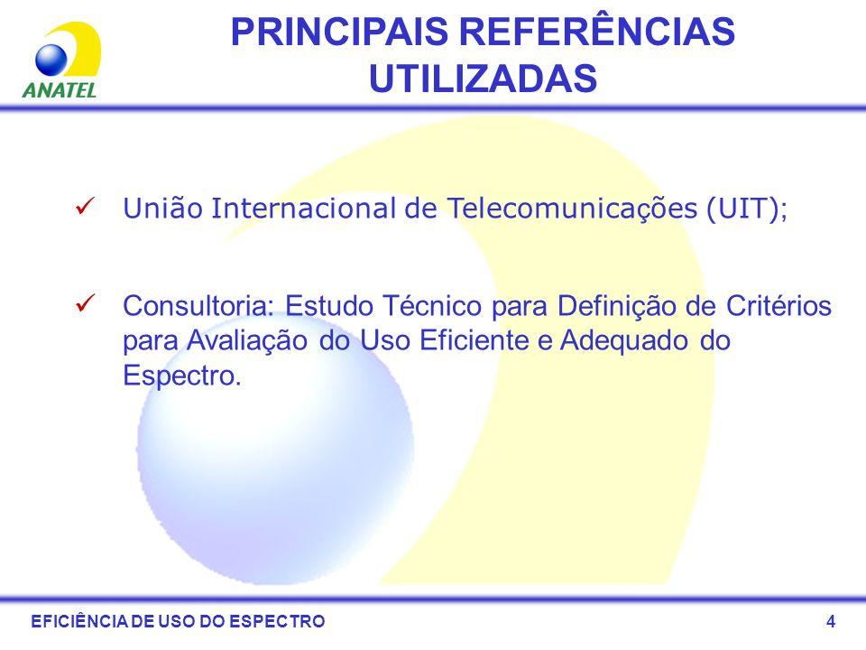 PRINCIPAIS REFERÊNCIAS UTILIZADAS