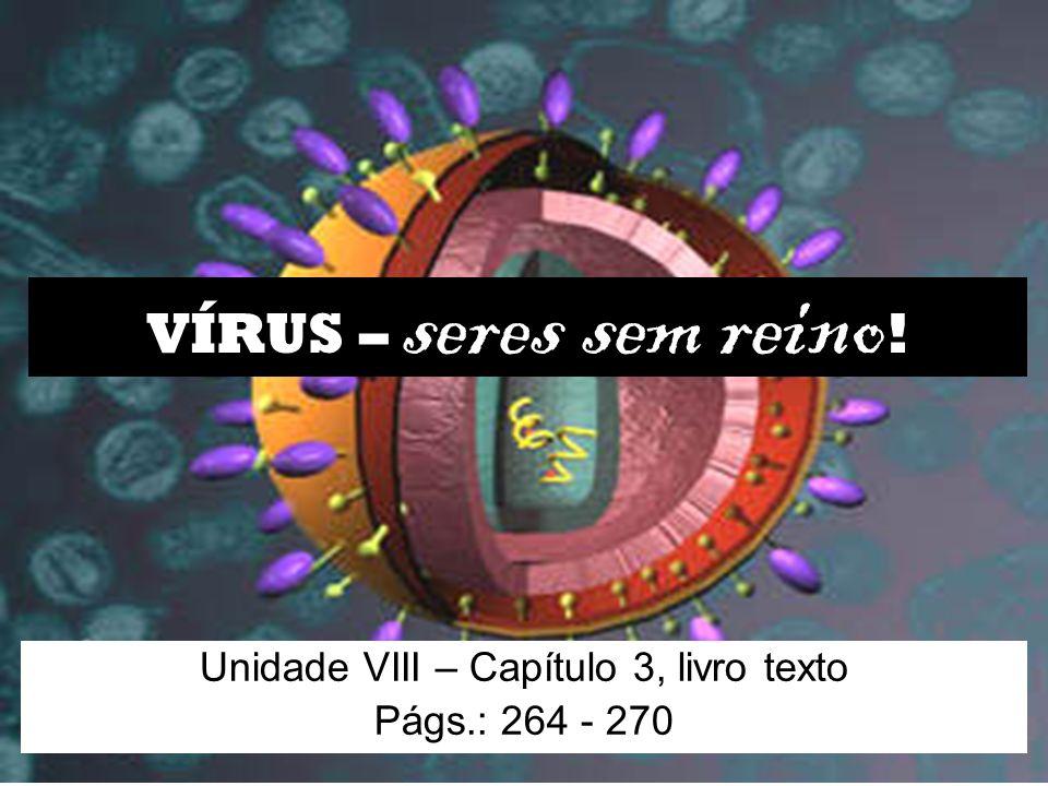 Unidade VIII – Capítulo 3, livro texto Págs.: 264 - 270