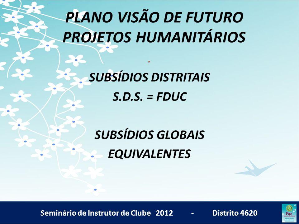 PLANO VISÃO DE FUTURO PROJETOS HUMANITÁRIOS