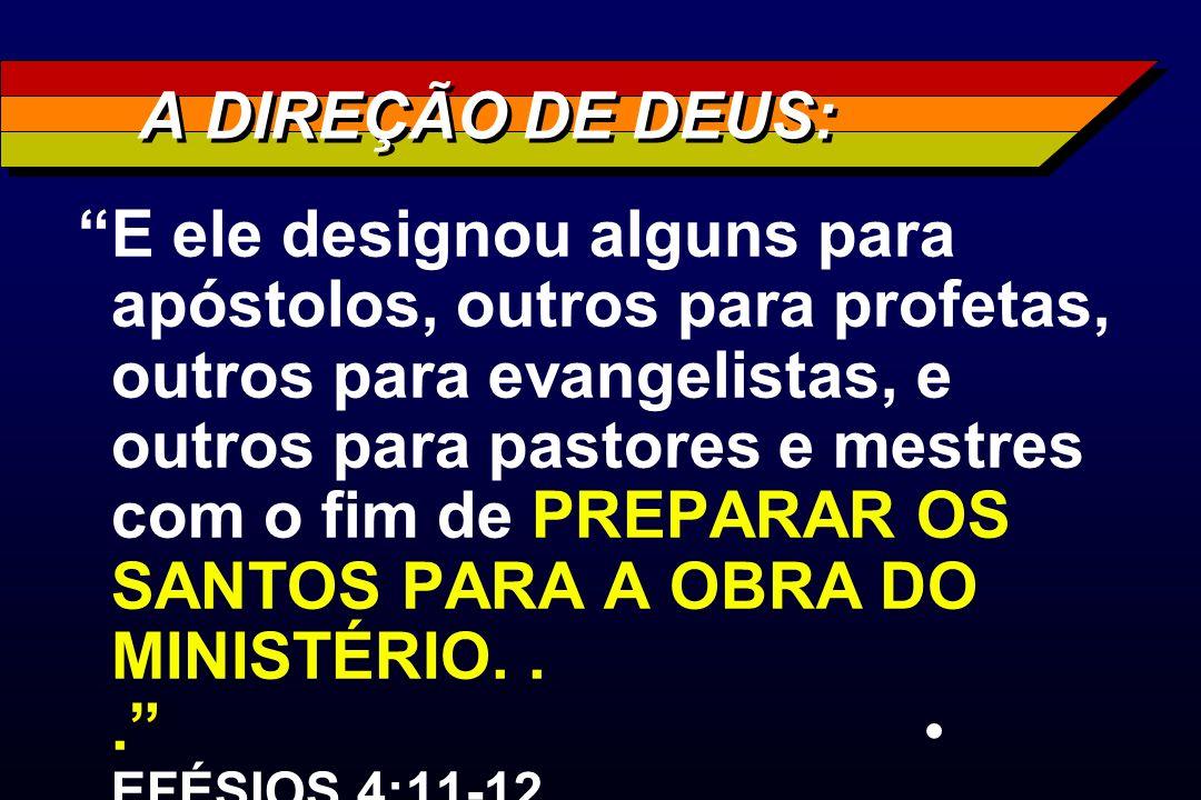 A DIREÇÃO DE DEUS: