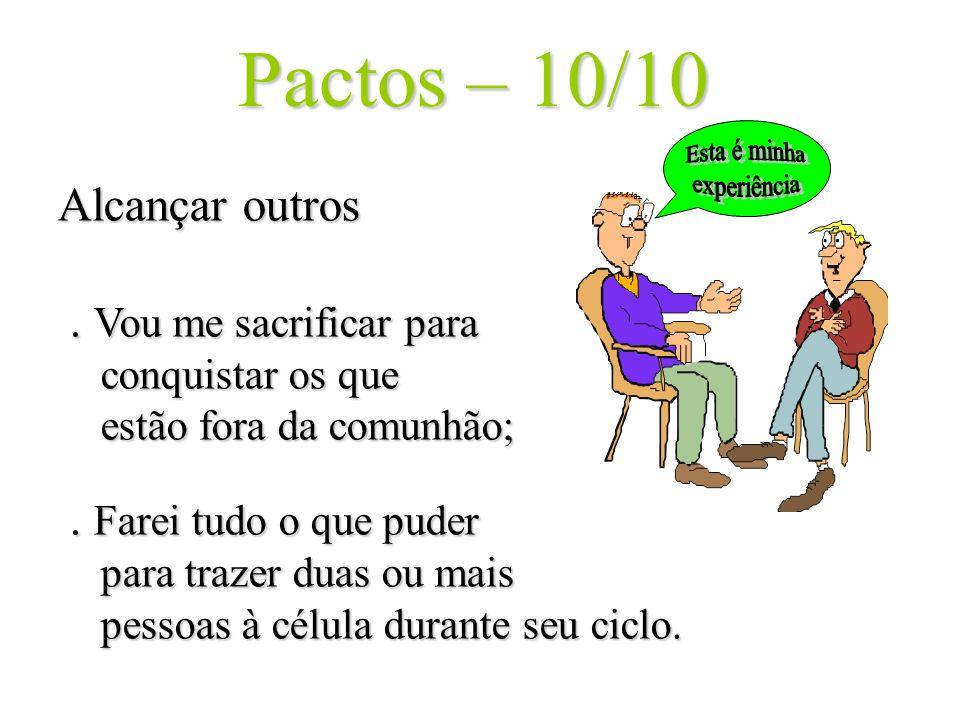 Pactos – 10/10 Esta é minha. experiência.