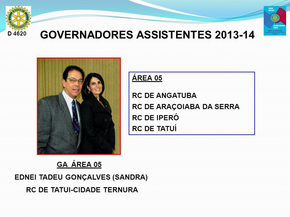 GOVERNADORES ASSISTENTES 2013-14 RC DE TATUI-CIDADE TERNURA