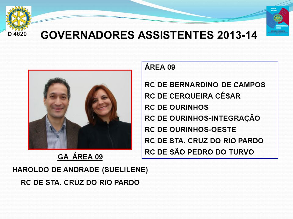 GOVERNADORES ASSISTENTES 2013-14