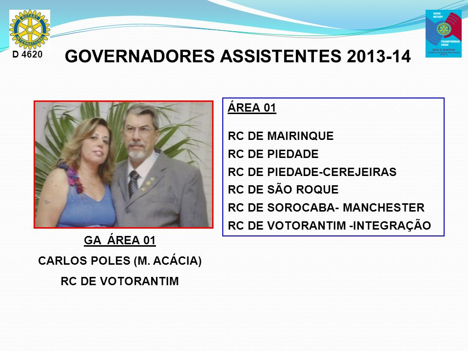 GOVERNADORES ASSISTENTES 2013-14 CARLOS POLES (M. ACÁCIA)