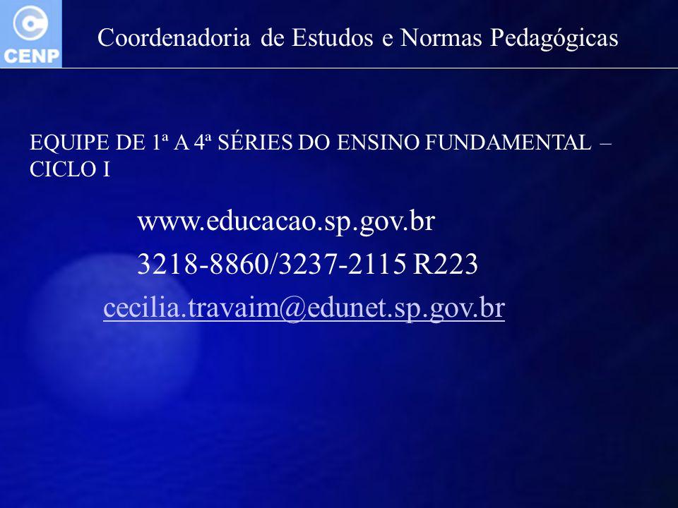 www.educacao.sp.gov.br 3218-8860/3237-2115 R223