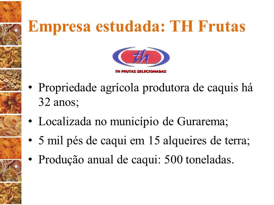 Empresa estudada: TH Frutas