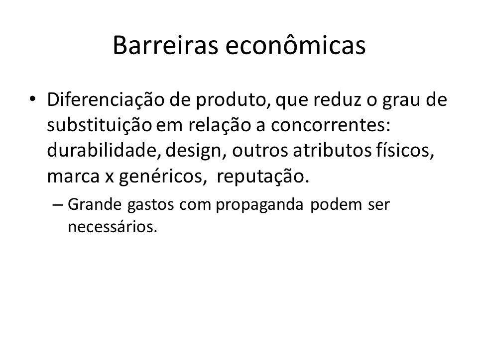 Barreiras econômicas