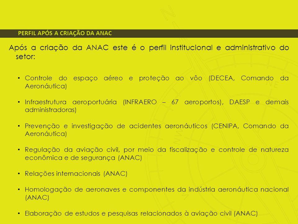 PERFIL APÓS A CRIAÇÃO DA ANAC