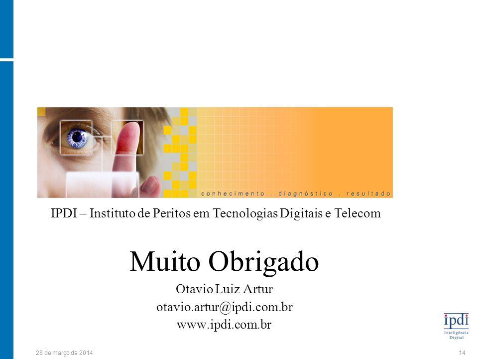 IPDI – Instituto de Peritos em Tecnologias Digitais e Telecom