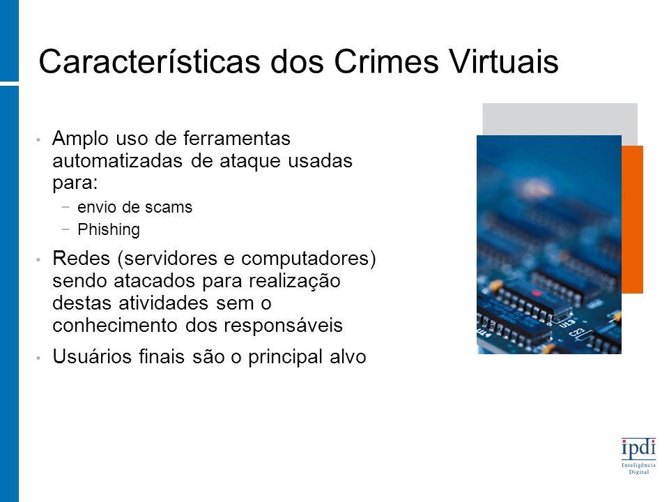 Características dos Crimes Virtuais