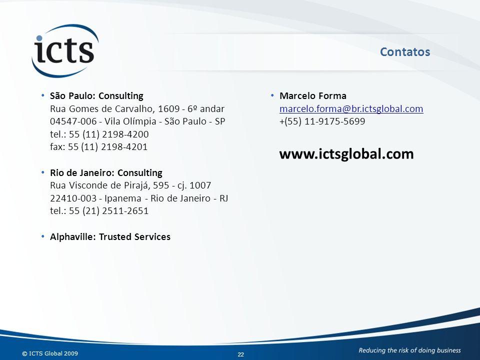 www.ictsglobal.com Contatos