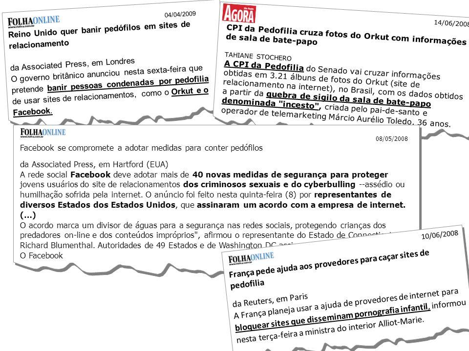 França pede ajuda aos provedores para caçar sites de pedofilia