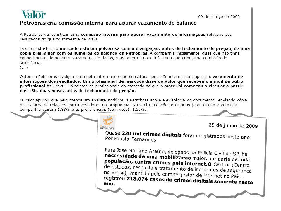 5 Petrobras cria comissão interna para apurar vazamento de balanço