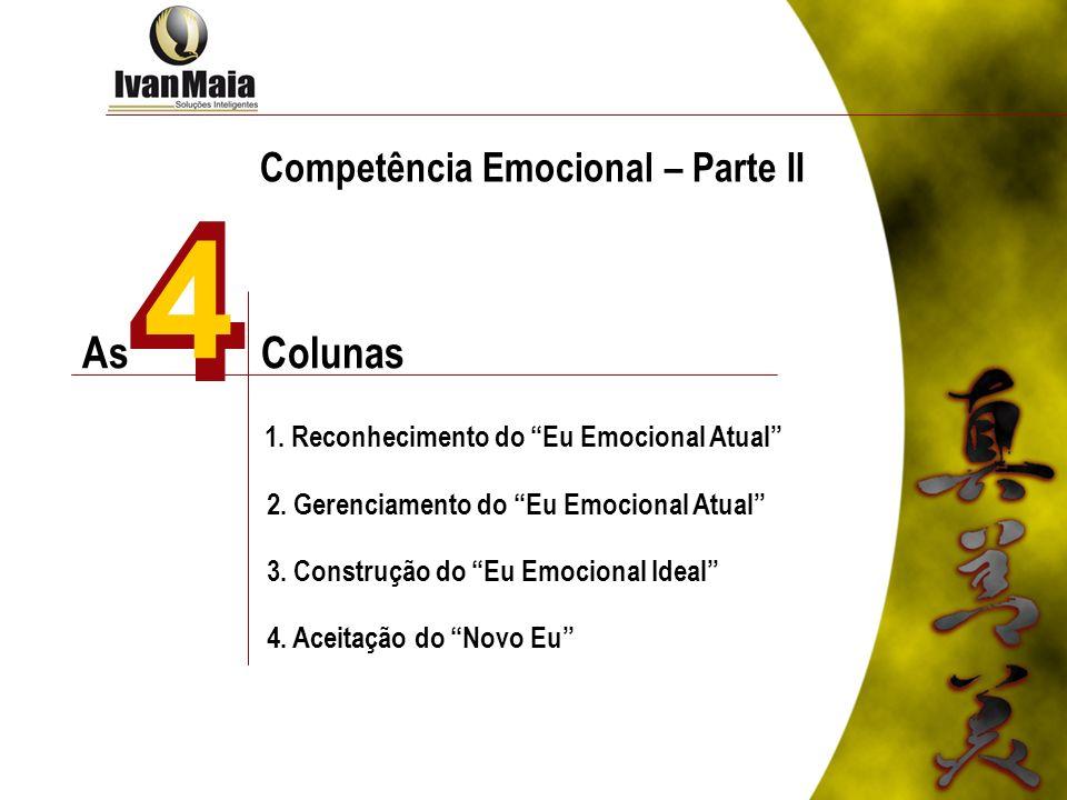4 4 As Colunas Competência Emocional – Parte II