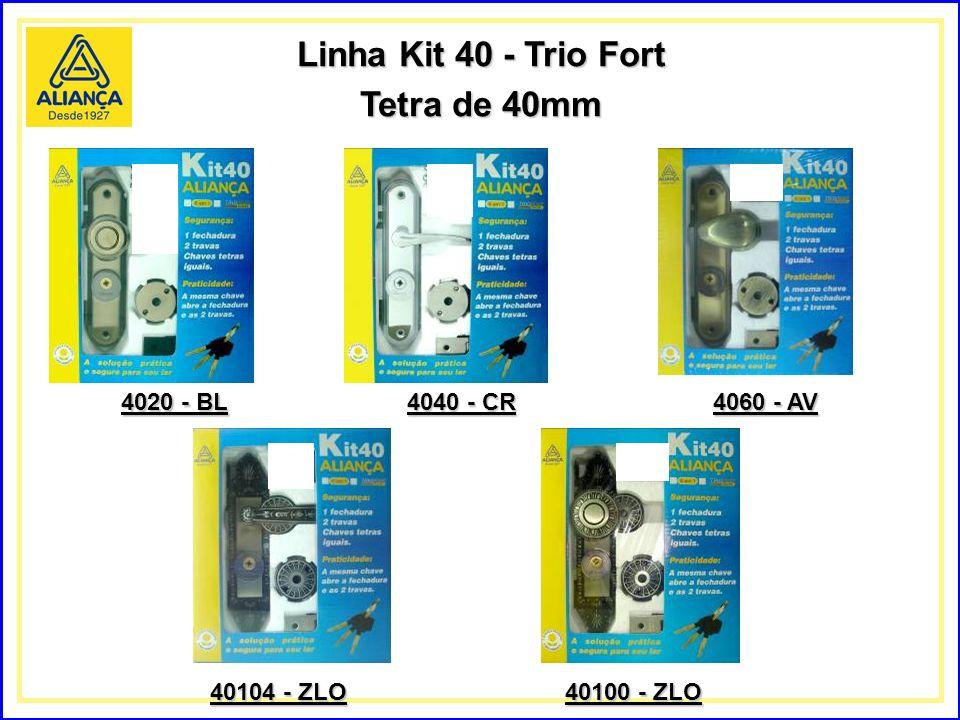 Linha Kit 40 - Trio Fort Tetra de 40mm