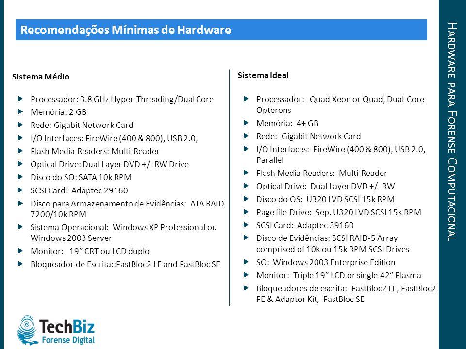 Hardware para Forense Computacional