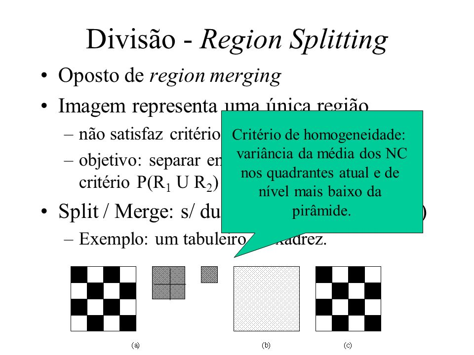 Divisão - Region Splitting