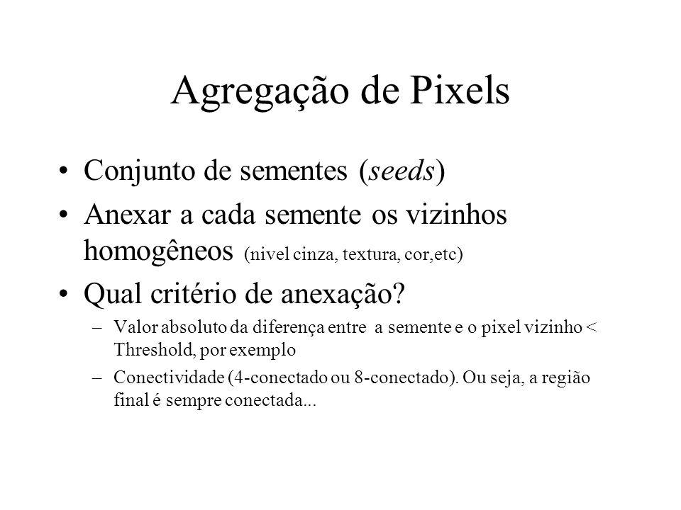 Agregação de Pixels Conjunto de sementes (seeds)