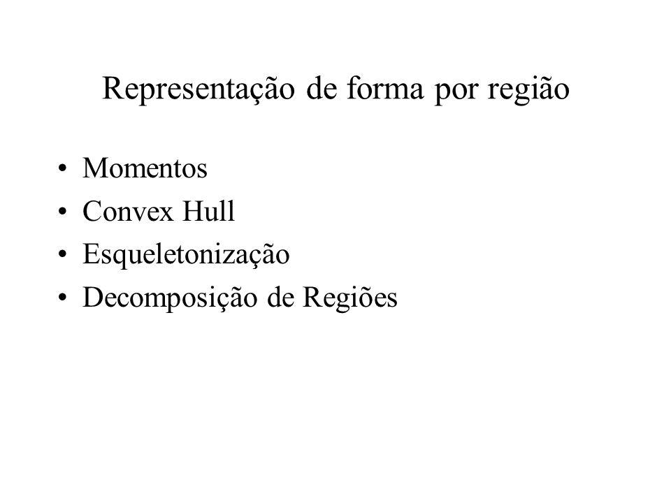 Representação de forma por região