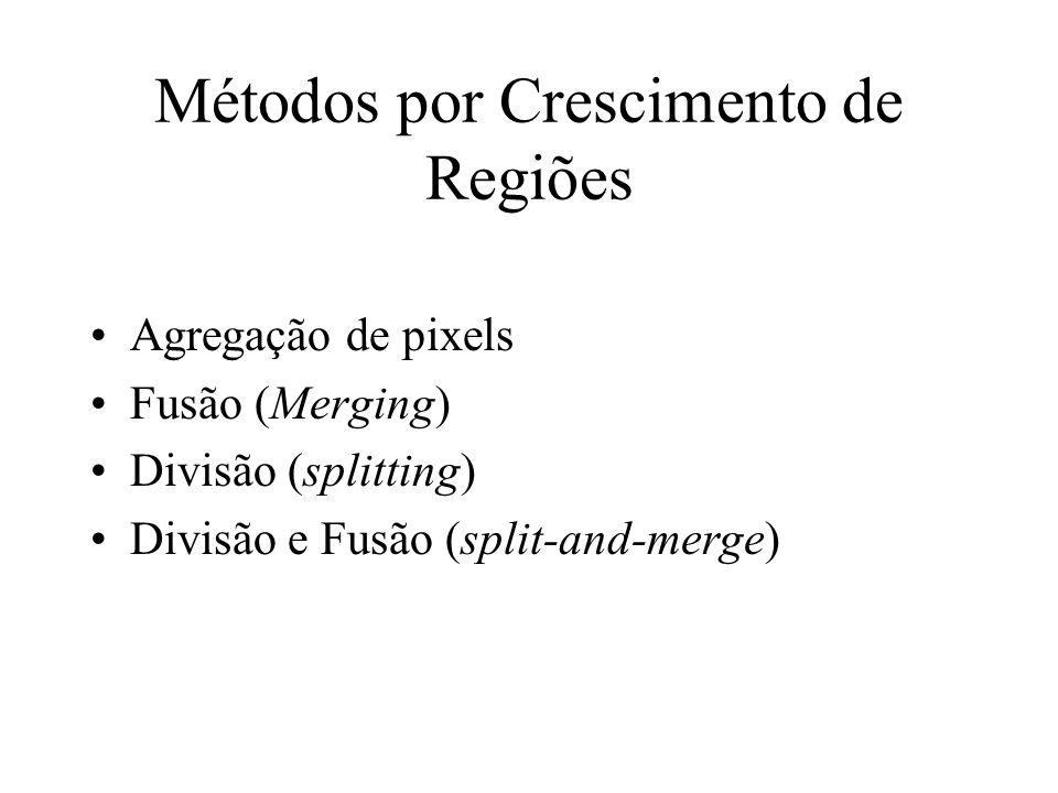 Métodos por Crescimento de Regiões