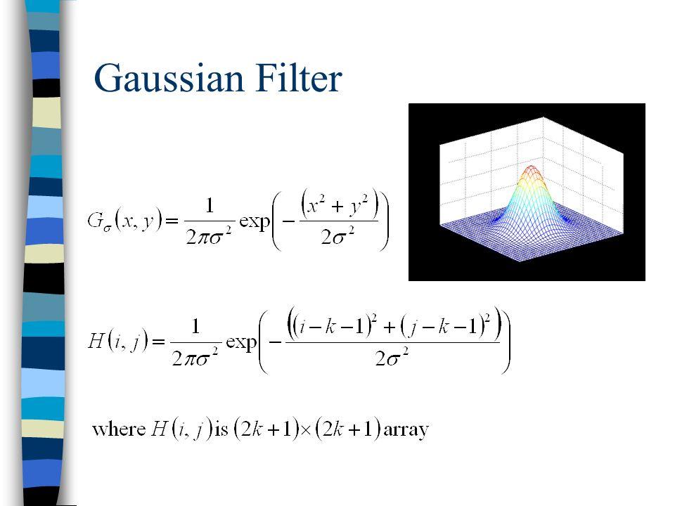 Gaussian Filter