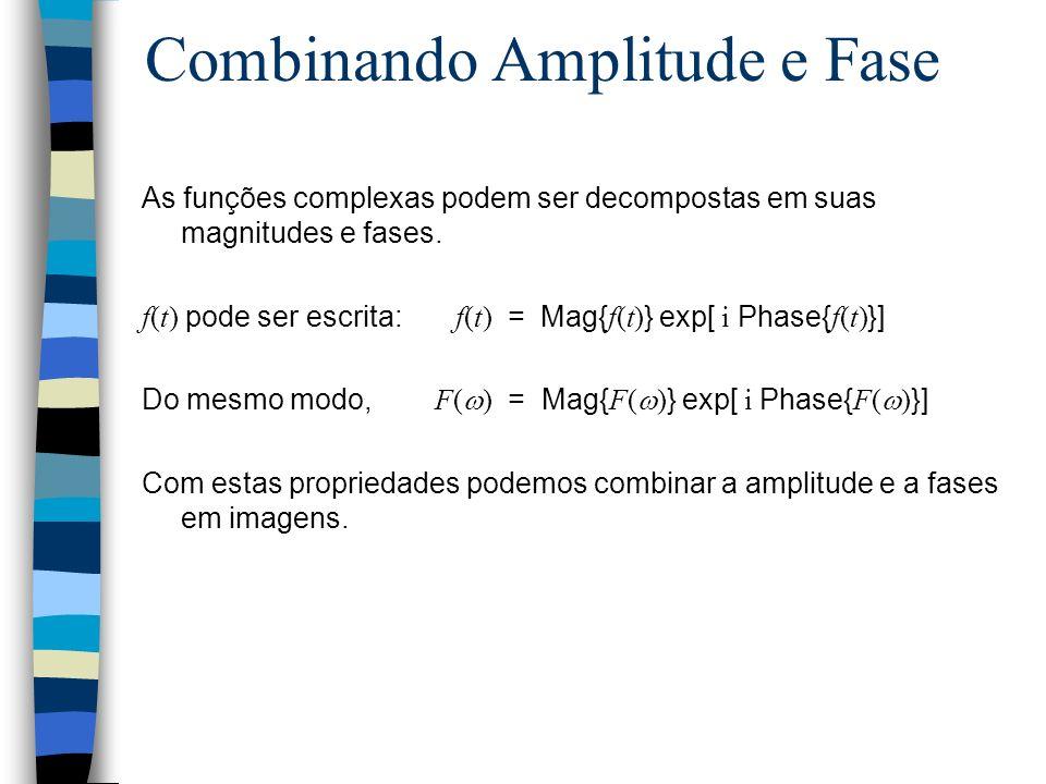 Combinando Amplitude e Fase
