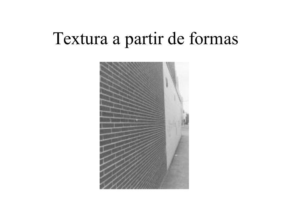 Textura a partir de formas