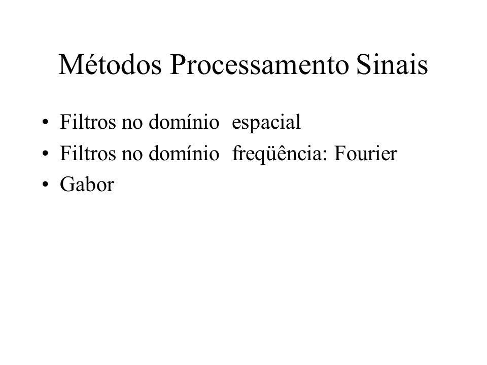 Métodos Processamento Sinais