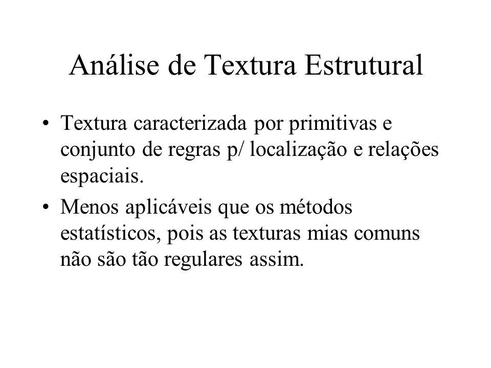 Análise de Textura Estrutural