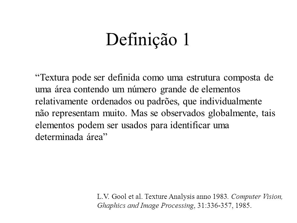 Definição 1