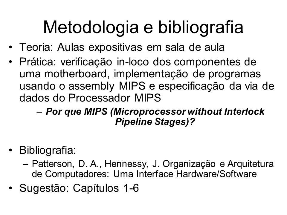 Metodologia e bibliografia