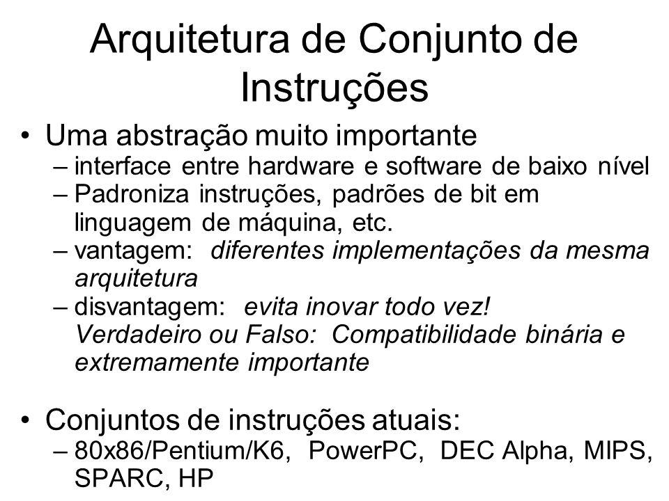 Arquitetura de Conjunto de Instruções