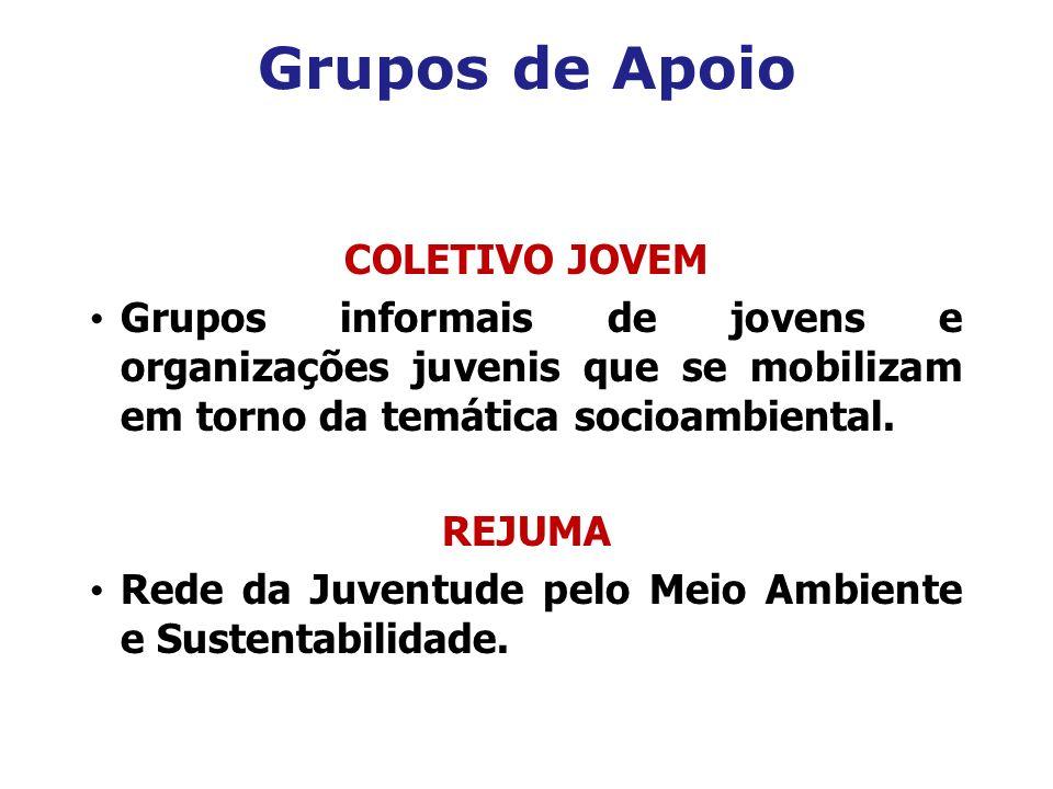 Grupos de Apoio COLETIVO JOVEM