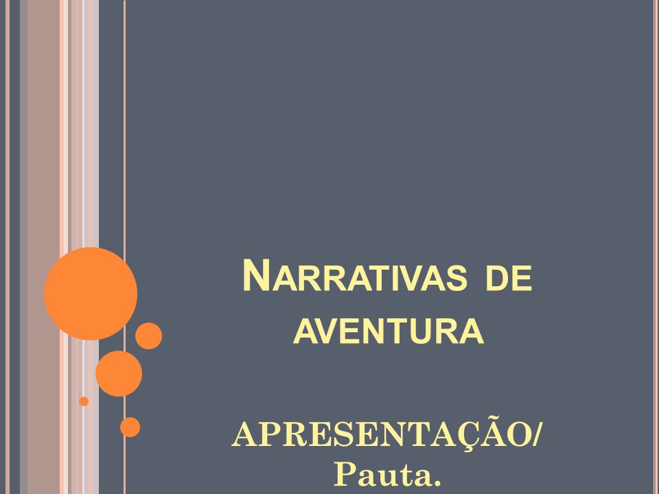 Narrativas de aventura