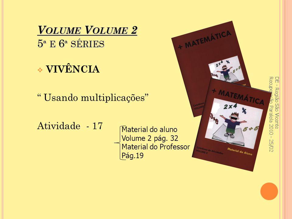 Volume Volume 2 5ª e 6ª séries