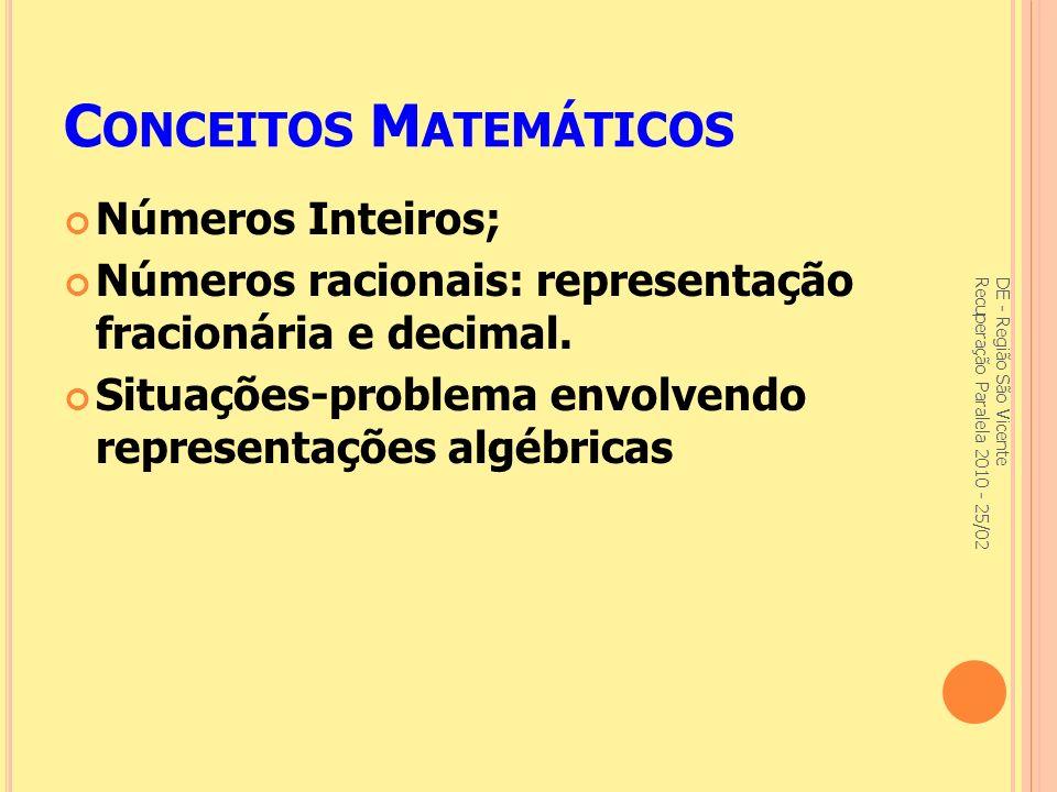 Conceitos Matemáticos