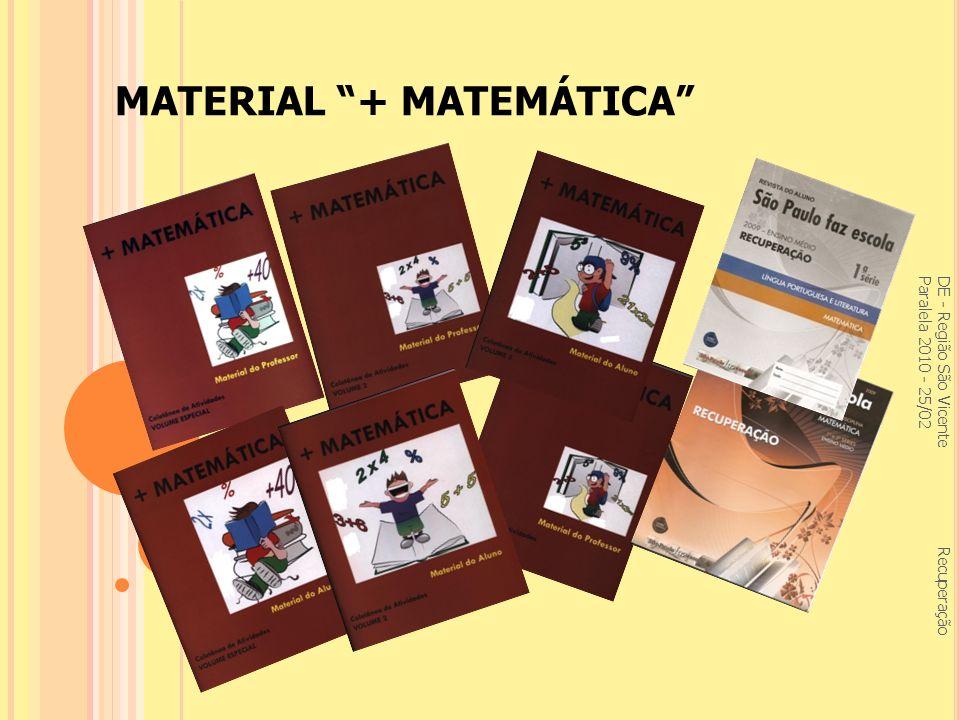 MATERIAL + MATEMÁTICA