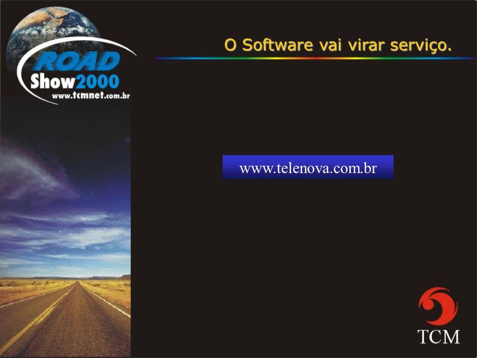 O Software vai virar serviço.