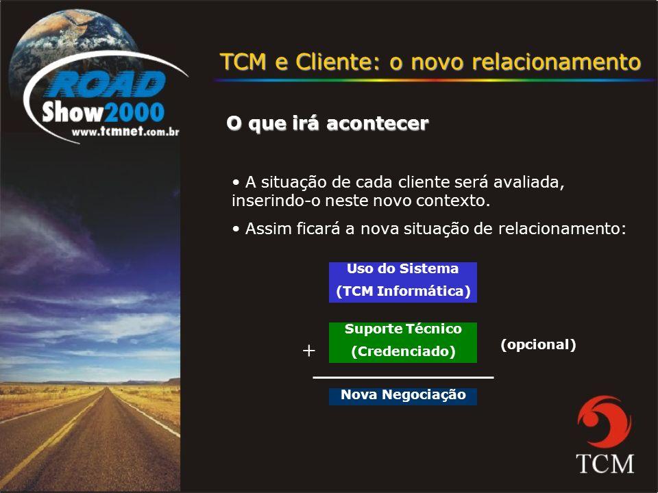 TCM e Cliente: o novo relacionamento